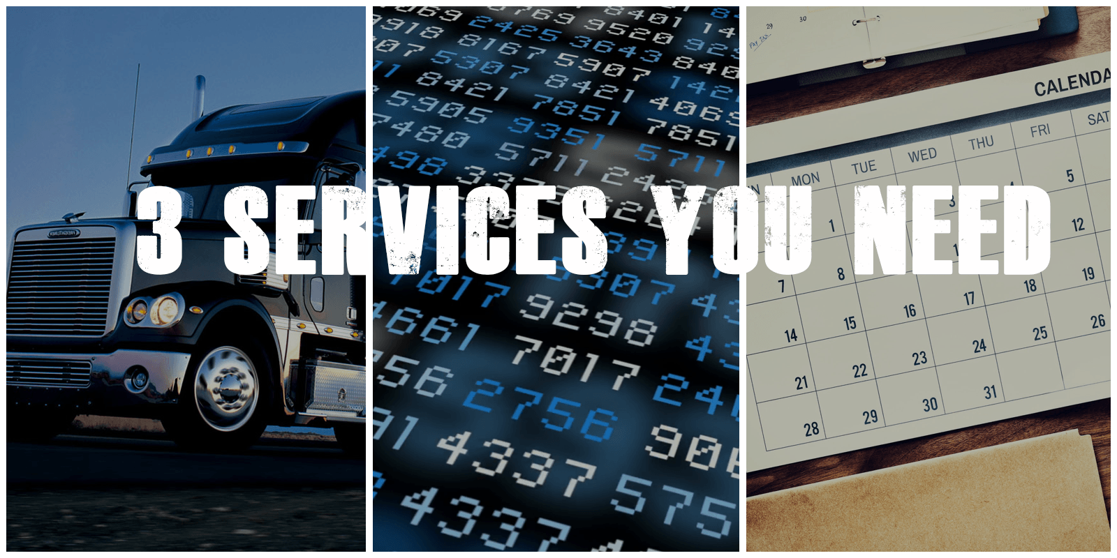 Access to trucks, Data Science, Easy Scheduling