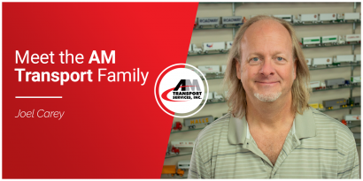picture of Joel Carey, Meet the AM Transport Family