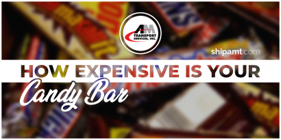 Picture of candy bars with title: How expensive is your candy bar?