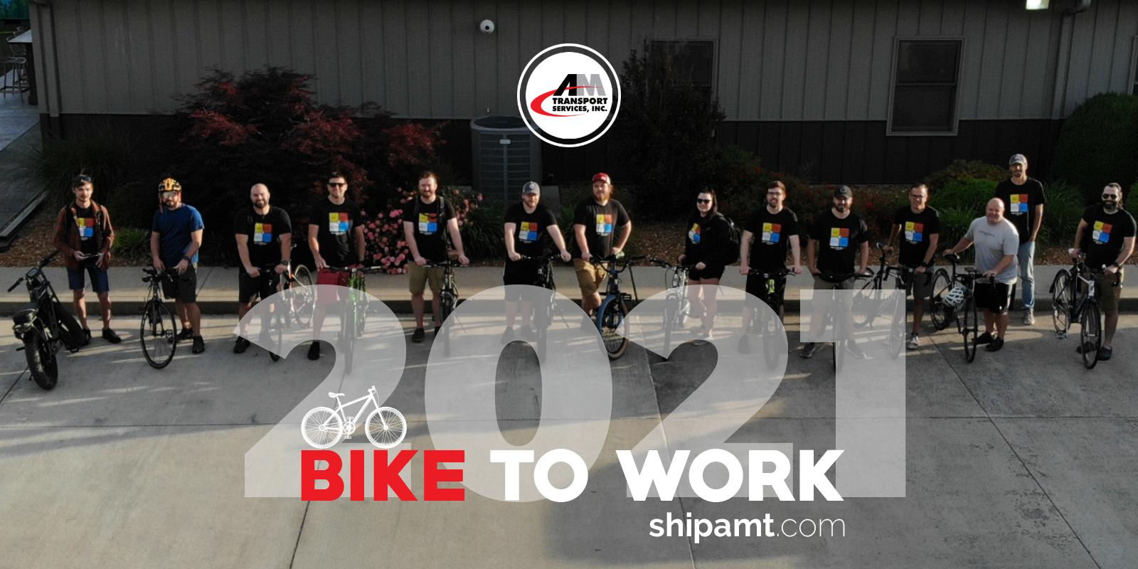 AMT celebrates National Bike to Work Day