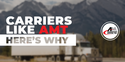 Carriers like working with AMT, and here's why!