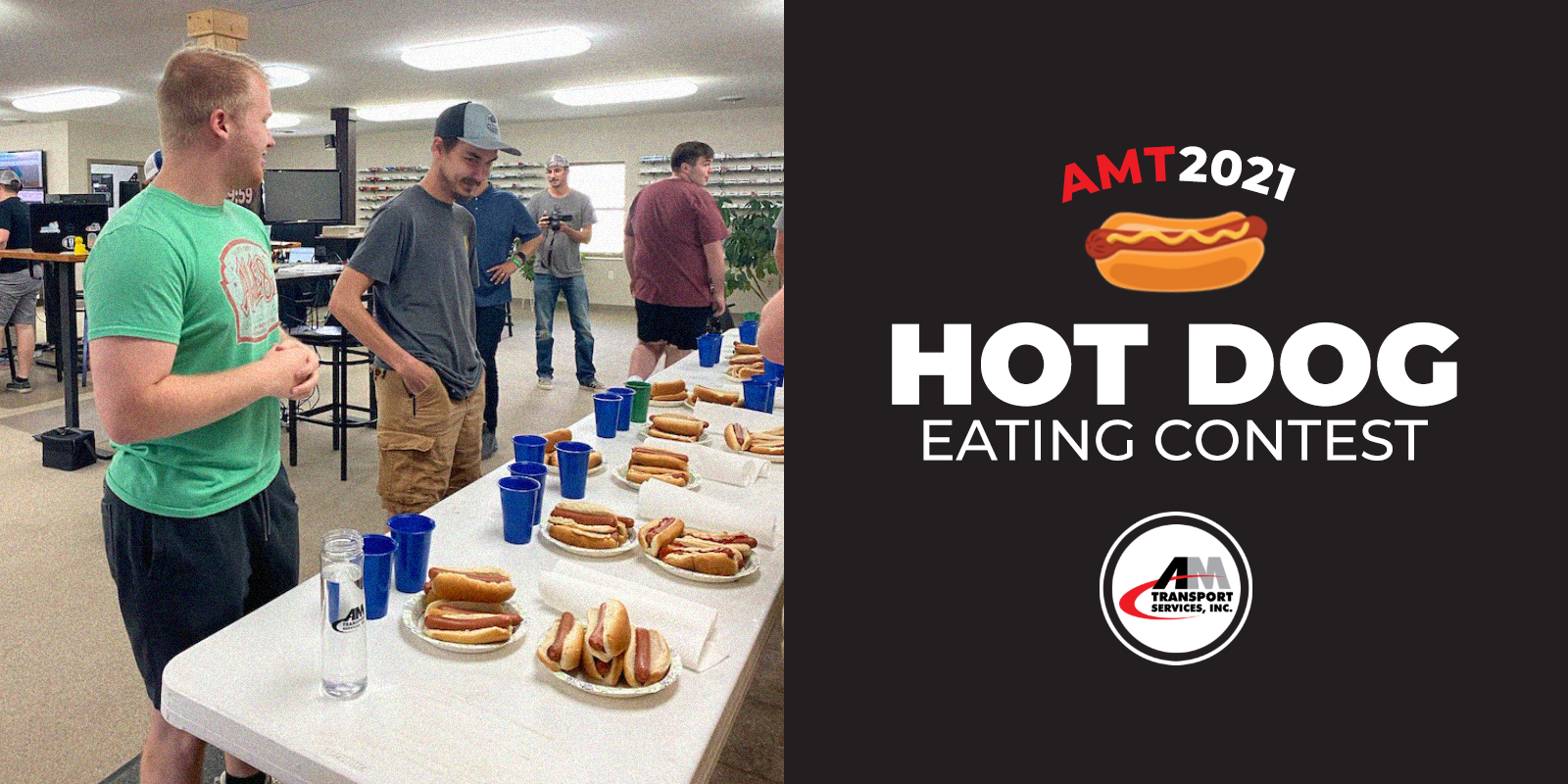 AMT's Hot Dog Eating Contest