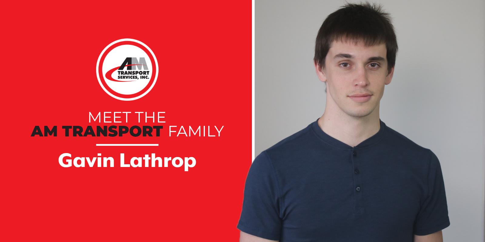 Meet the Team: Gavin Lathrop