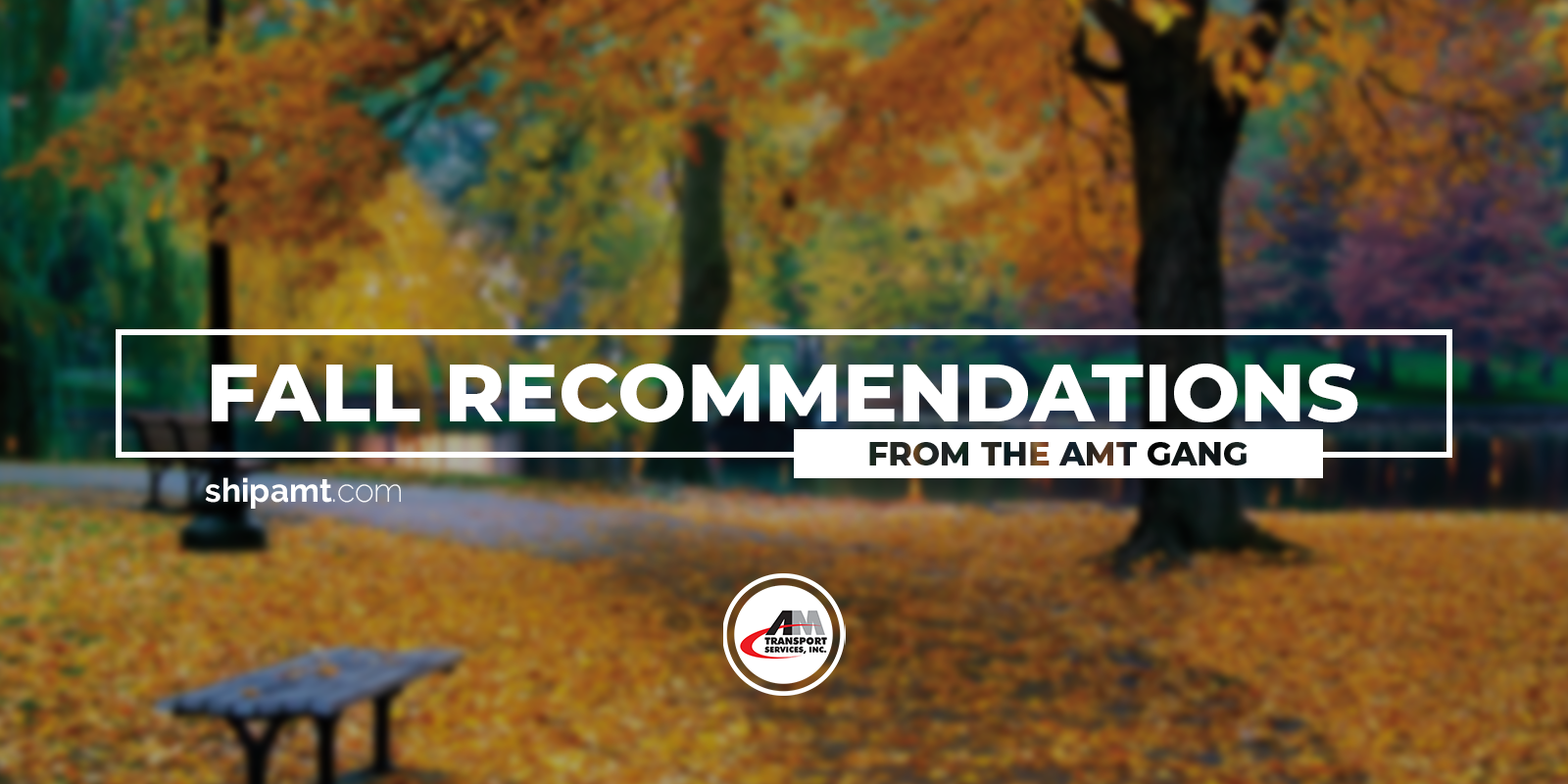 Fall Book Recommendations