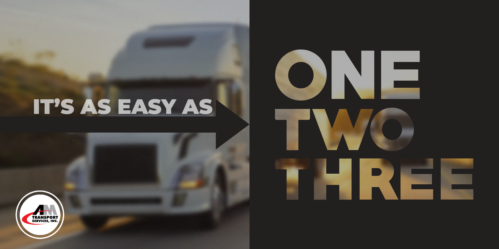 Better Shipping: It's as easy as 1, 2, 3.
